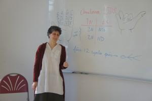 Anouk Thibault, Professeur de yoga