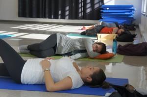 Cours de yoga pré-natal