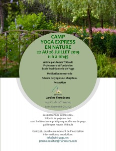 yoga à FloreSsense